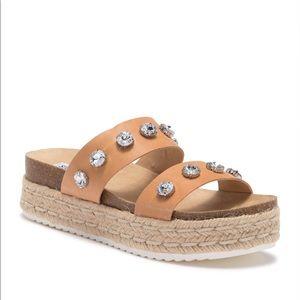 Steve Madden Sionia Espadrille Sandal. Size 7.